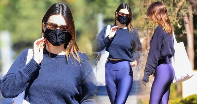 布克女友詹娜外出健身秀超模身材