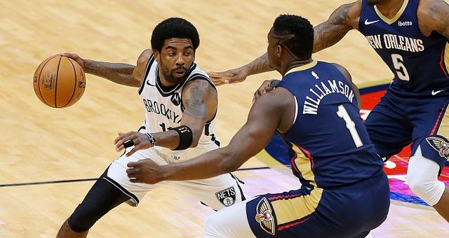 [NBA]篮网134-129鹈鹕 欧文砍32分8助攻