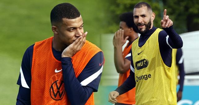 法國隊集訓備戰歐洲杯 本澤馬姆巴佩引領眾人