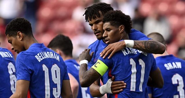 [热身赛]英格兰1-0罗马尼亚 拉什福德破门