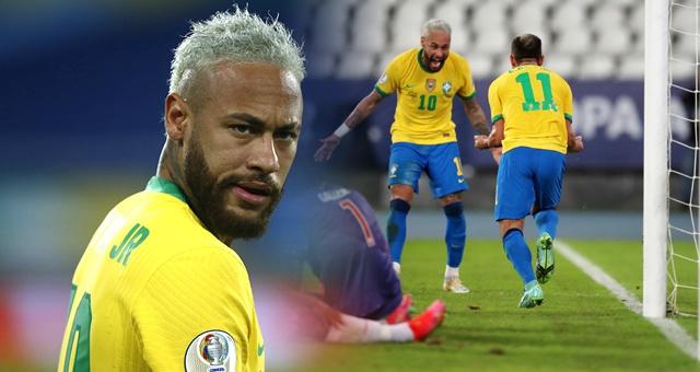[美洲杯]巴西4-0秘鲁 内马尔破门获两连胜