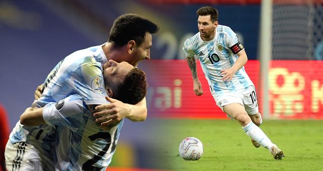 [美洲杯]阿根廷1-0巴拉圭 梅西成队史出场王