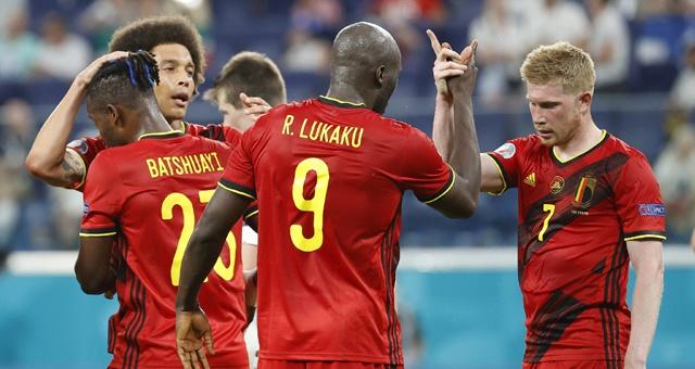 [欧洲杯]比利时2-0芬兰 卢卡库破门