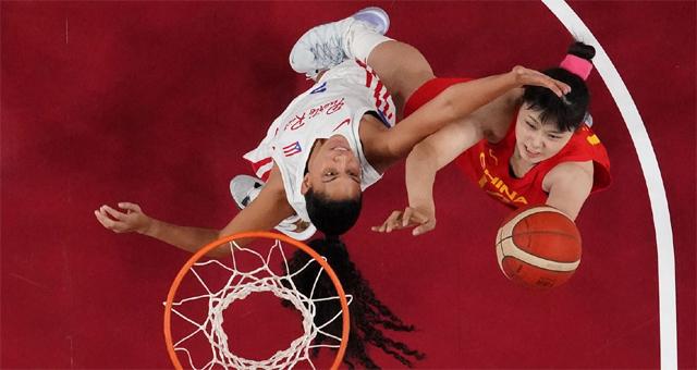 中国女篮97-55波多黎各 李月汝21分12篮板