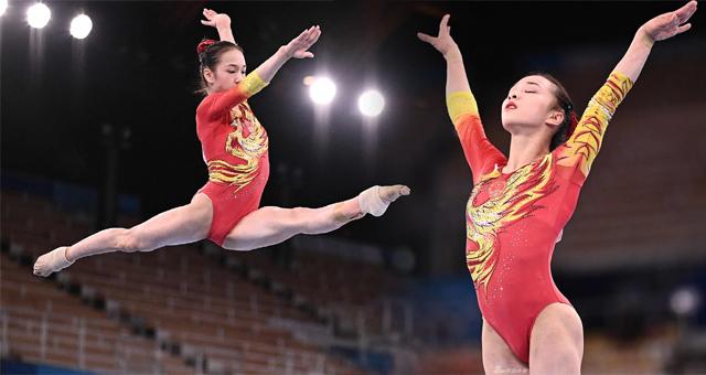 体操女团决赛中国女团获得第七