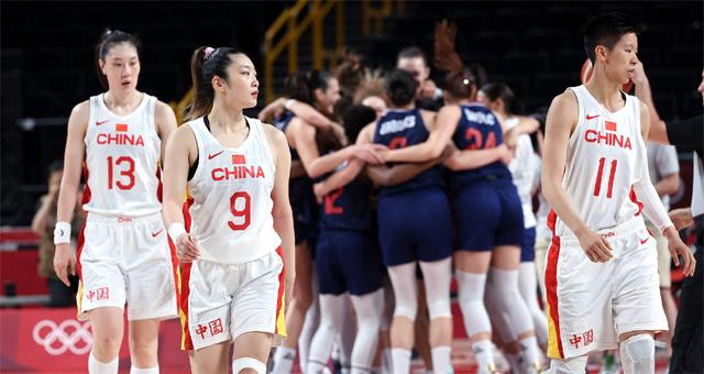 中国女篮70-77负塞尔维亚 止步八强