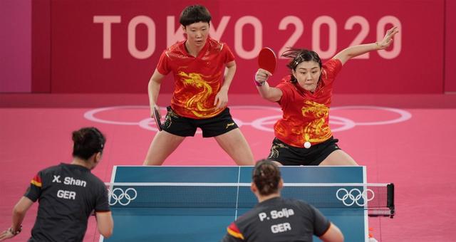 国乒女团3-0德国进决赛 将与日本争冠