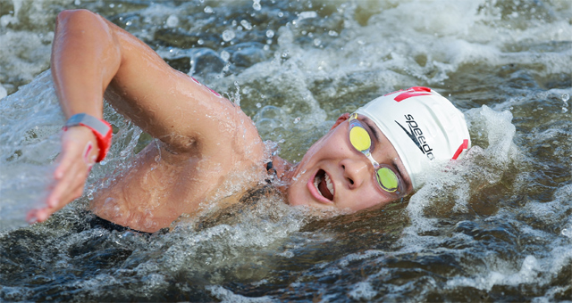 马拉松游泳女子十公里 辛鑫第八