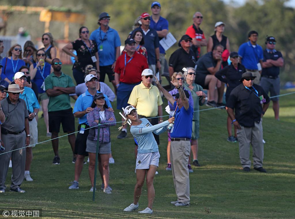 LPGA揭幕战第三轮