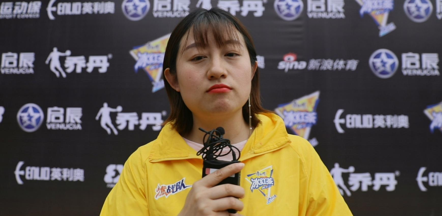 3X3黄金联赛专访严敏女士