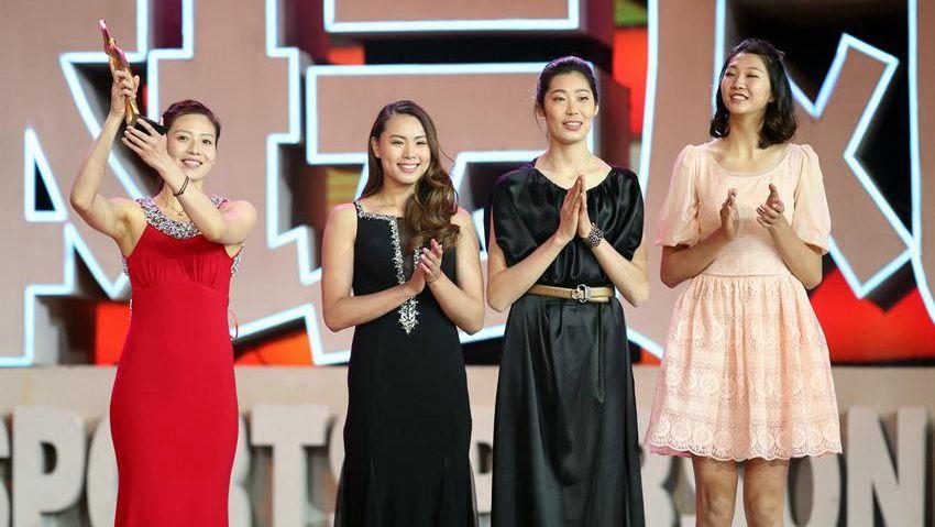 中国女排蝉联年度最佳团队奖