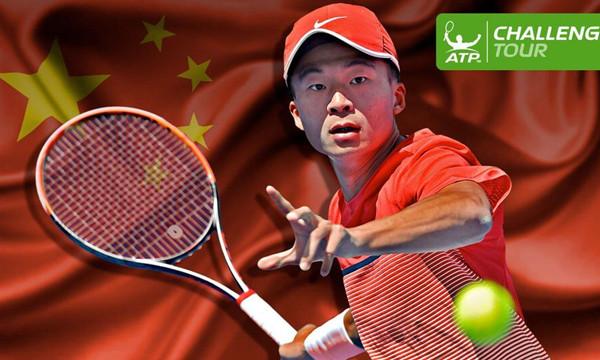 高清-创造历史!吴迪夺中国男网首个挑战赛男单冠军