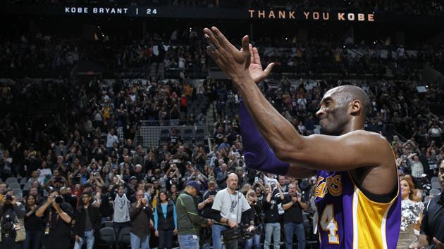 NBA-科比25分告别圣城 湖人客场惜败马刺