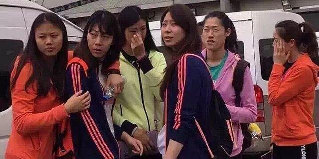 中国女排劳逸结合赴普陀山放松