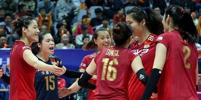中日女排精英赛首战中国3-1日本
