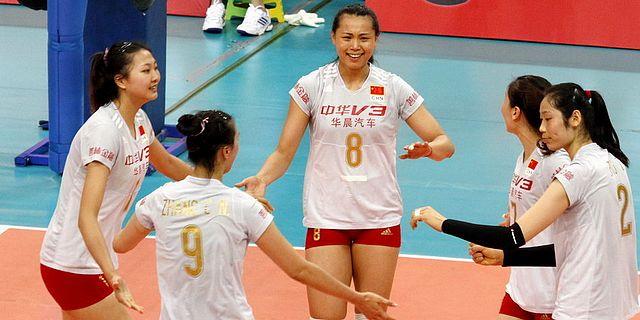 中日女排精英赛次战中国3-0日本