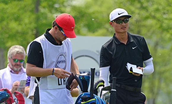 中国公开赛第三轮进行中 李昊桐发力冲击榜首
