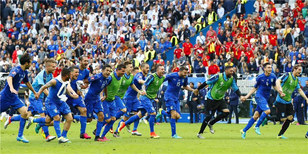 [欧洲杯]意大利2-0西班牙 进八强将战德国