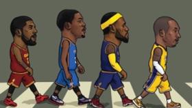 韩国漫画家笔下的NBA