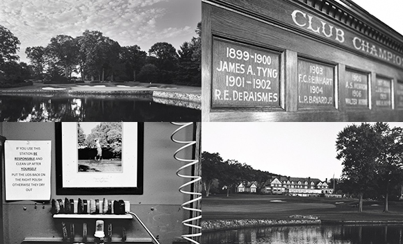 老照片揭秘百年巴特斯罗 PGA锦标赛球场风韵独特