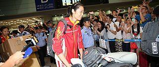 中国女排凯旋球迷热情迎接