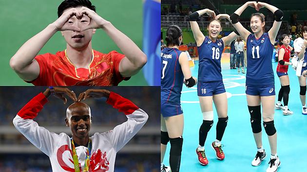 里约奥运Top10:爱心