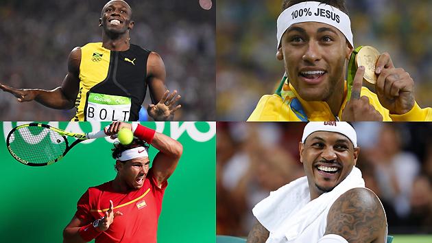 里约奥运Top10:捞金王