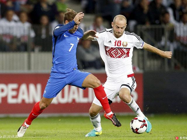 瓦拉内中横梁法国0-0