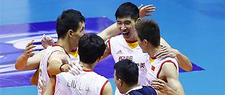 男排亚洲杯中国队与伊朗争冠