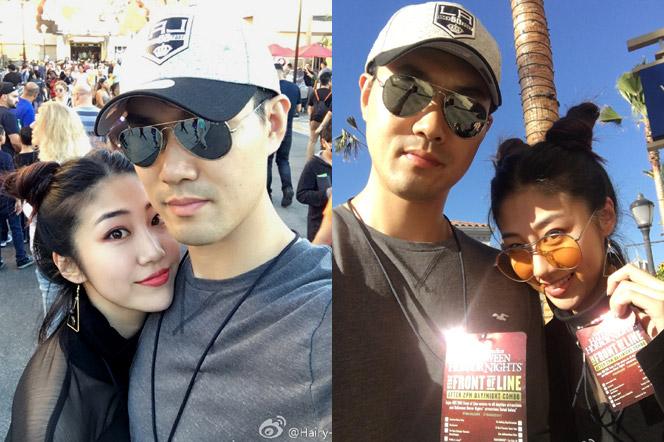 甜蜜!王仕鹏与妻子的最新生活照