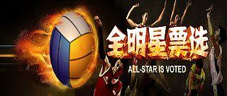 中国排球联赛全明星票选