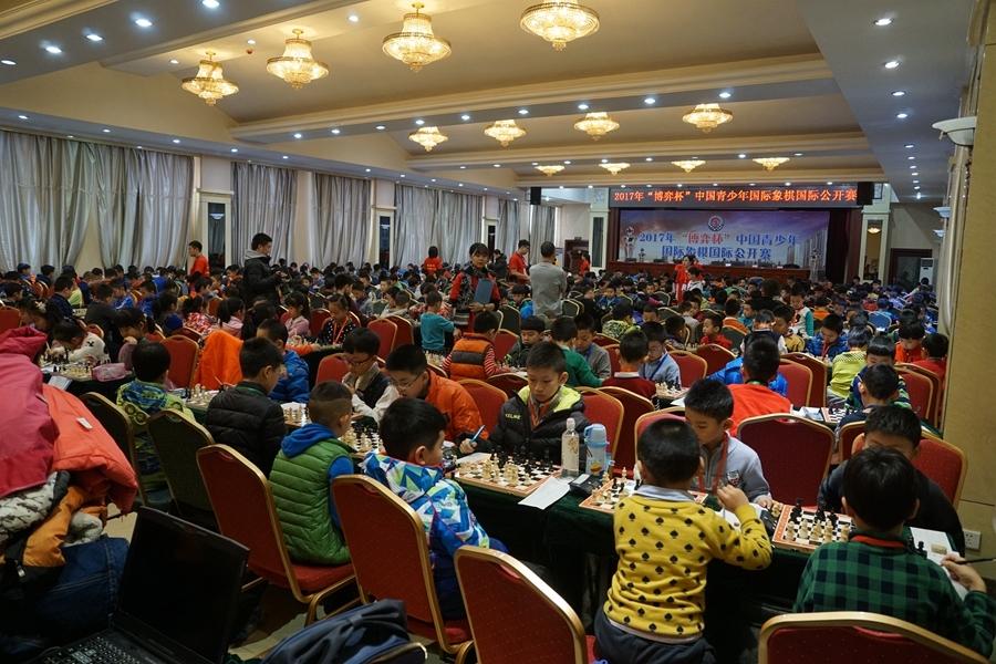高清-博弈杯中国青少年国象公开赛