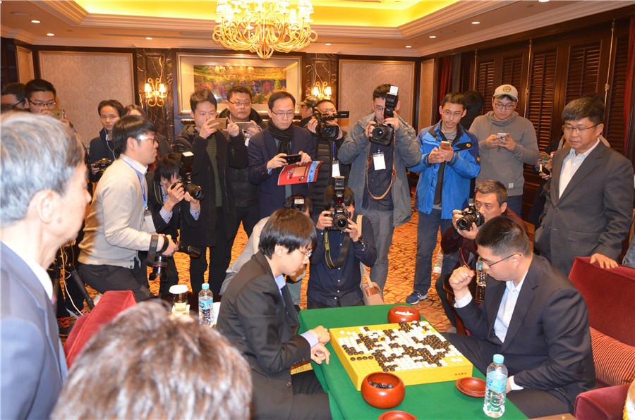 高清-农心杯终局赛后 记者聚焦夺冠