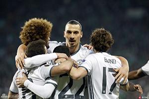欧联杯-姆希塔良破门 曼联1-0双杀晋级