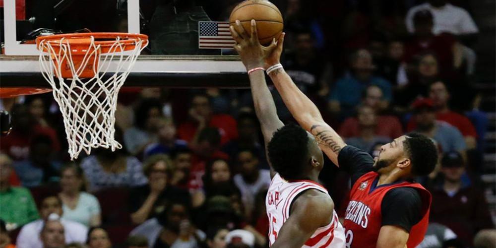 [NBA常规赛]哈登38+17大两双力压鹈鹕双塔