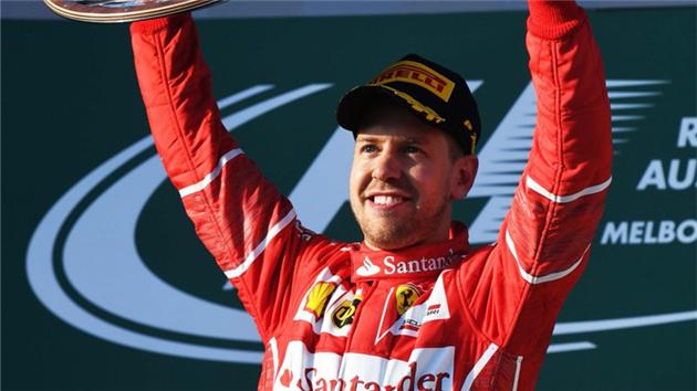 F1揭幕战-维特尔澳洲夺冠 法拉利破冠军荒