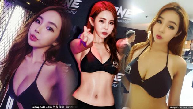 韩国拳击宝贝火辣身材爆乳吸睛