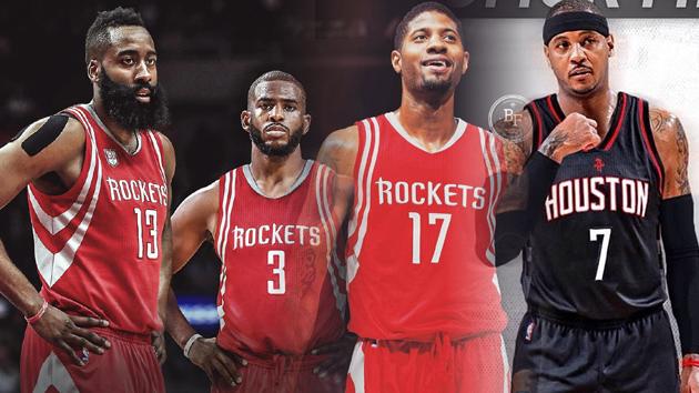 保罗引领NBA夏季交易大幕 火箭组四巨头?