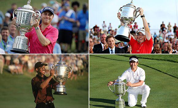 PGA锦标赛本世纪冠军回顾 托马斯并肩老虎梁容银