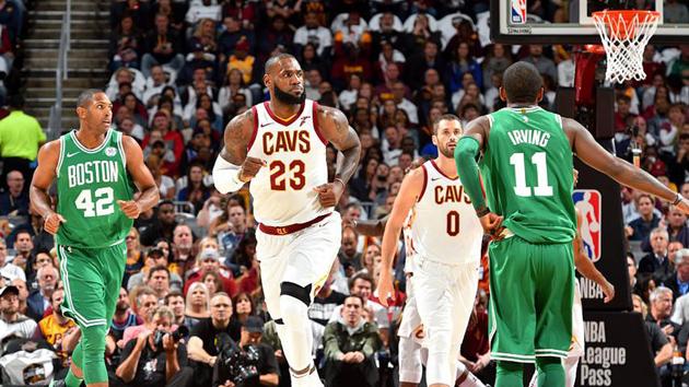 NBA新赛季揭幕战:凯尔特人99-102骑士
