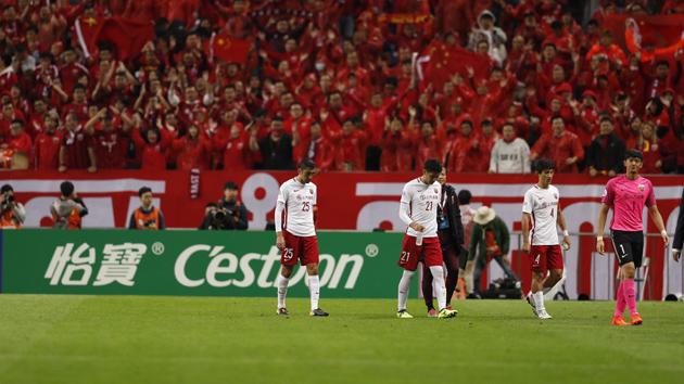 新浪直击上港0-1浦和无缘亚冠决赛