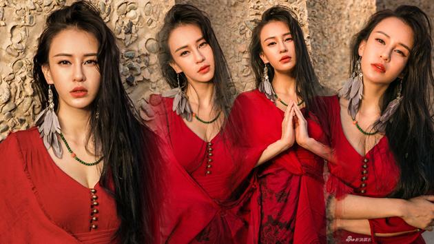 瑜伽女神母其弥雅古城写真展脱俗美感