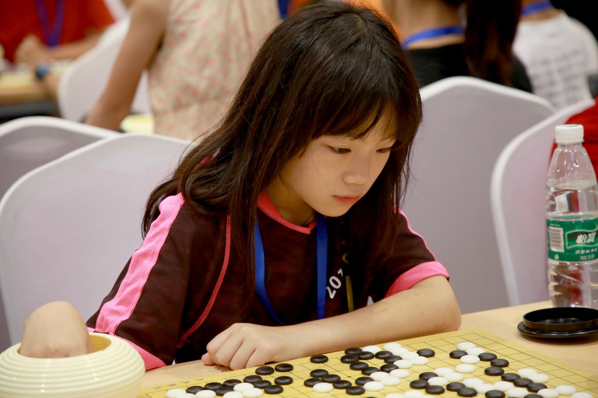 高清-围棋大会女选手精彩瞬间