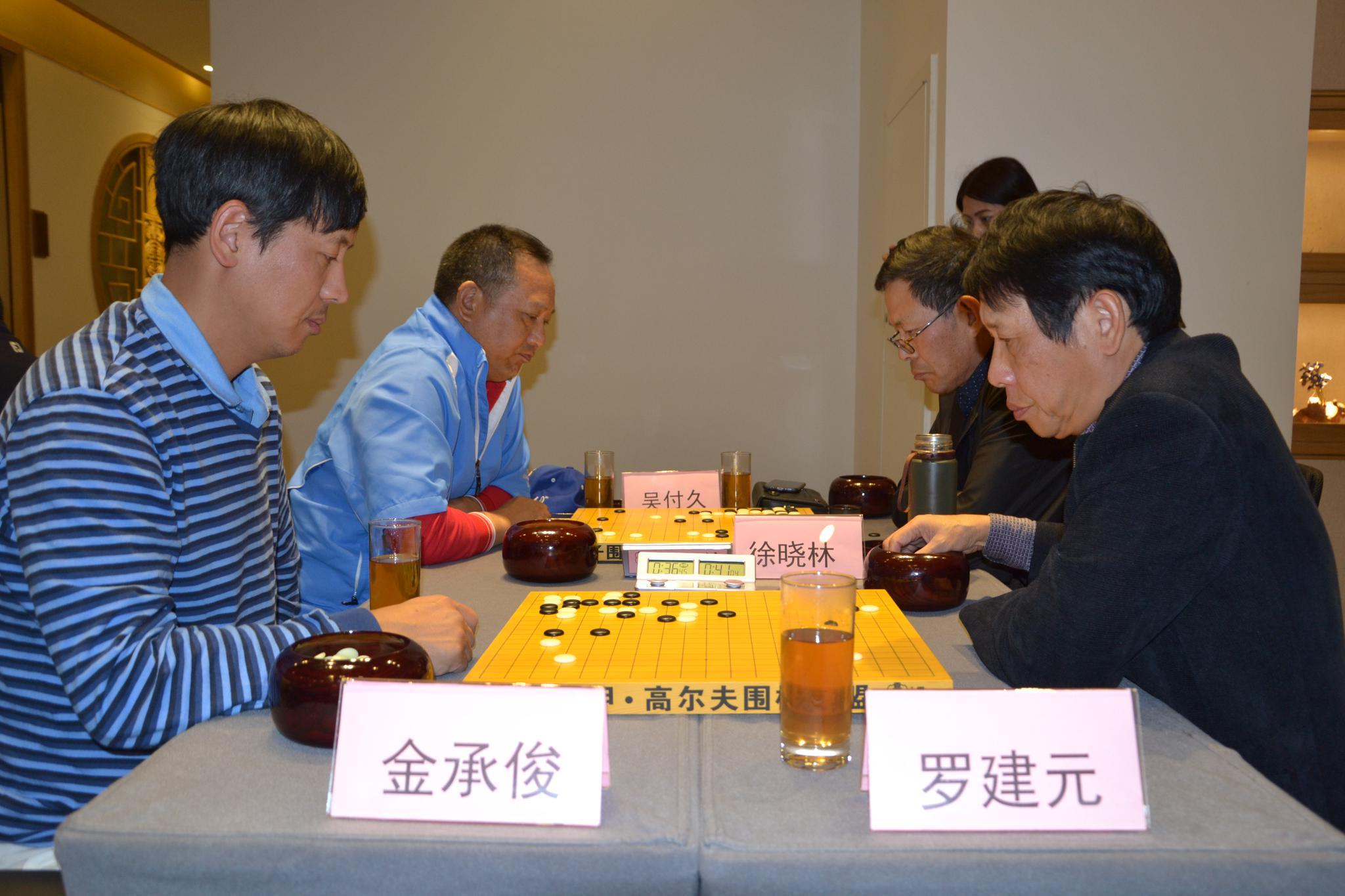 围棋与高尔夫趣谈:国内交流赛初具赛事雏形