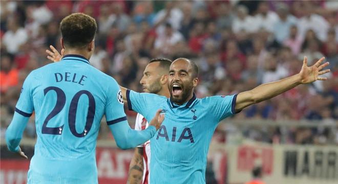 欧冠-凯恩进球 快马世界波 热刺2球领先2-2客场平