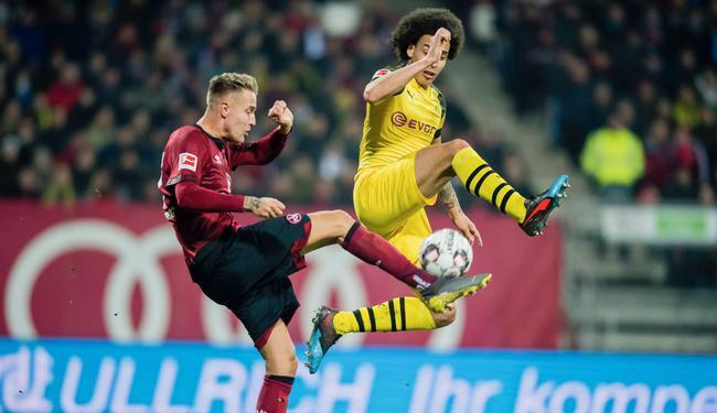 德甲-多特客平垫底队连续5场不胜 仅领先拜仁3分
