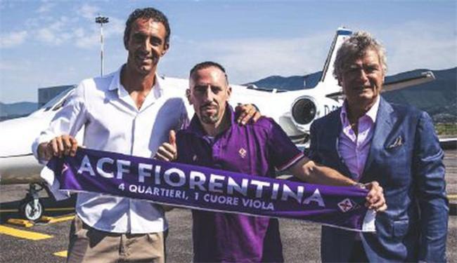 佛罗伦萨官方宣布里贝里加盟 曾效力拜仁12载