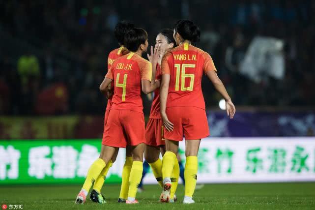 中国女足10-0狂胜蒙古