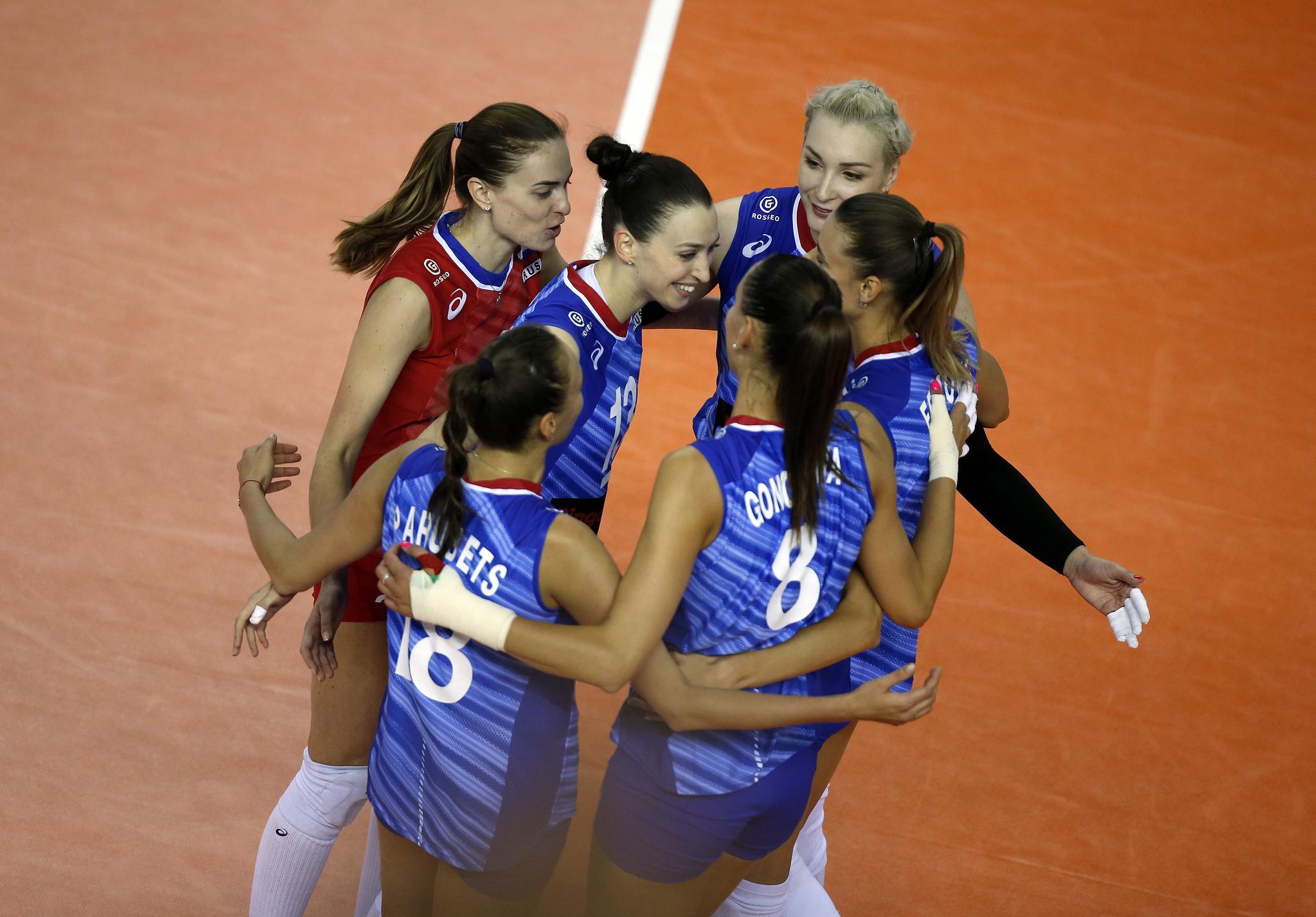 奥运资格赛俄罗斯女排3-0墨西哥