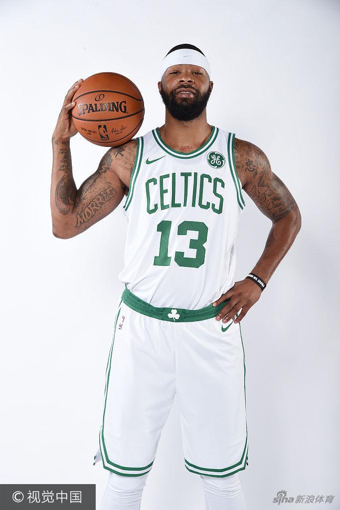 [NBA]绿军新援拍摄写真 新赛季助力三巨头(8张)